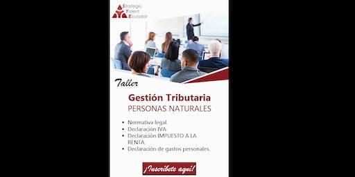 Gestión Tributaria - Personas naturales