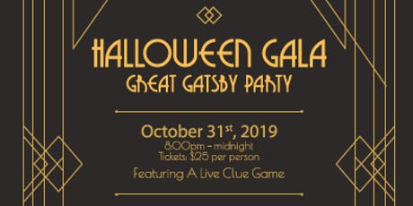 Gatsby Halloween Gala tickets