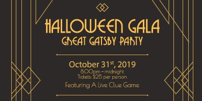 Gatsby Halloween Gala