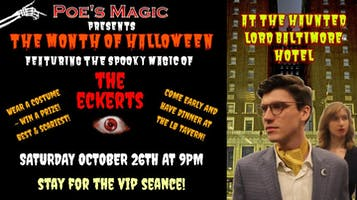 """Halloween Magic With The Eckerts: """"Beyond the Veil"""""""