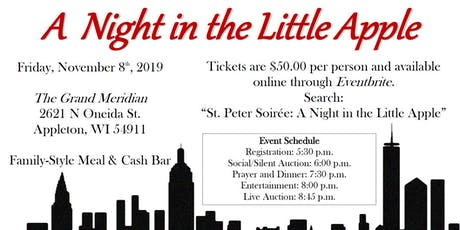 The St. Peter Soirée: A Night in the Little Apple tickets