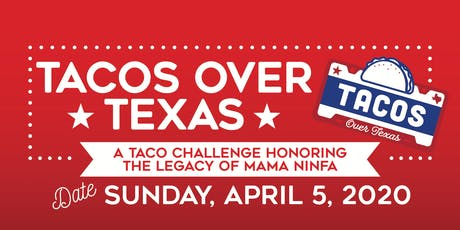 TACOS OVER TEXAS tickets