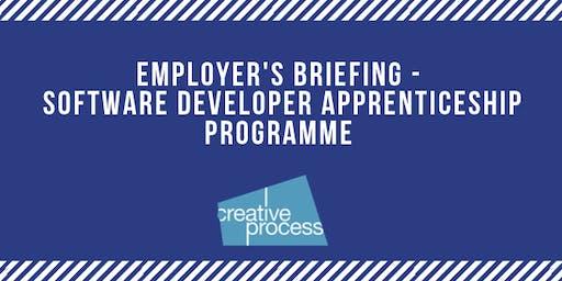 Employer's Briefing Event - Software Developer Apprenticeship Programme