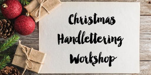 Christmas Handlettering Workshop