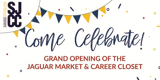 Grand Opening of the Jaguar Market & Career Closet