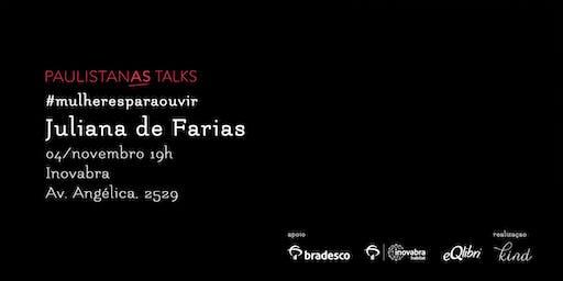 Paulistanas Talks: como adotar uma postura que foque na ação e não só nos problemas relacionas à questão de gênero?