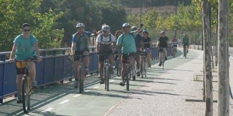 Paseo en bici por Zaragoza entradas