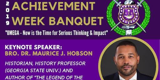2019 Eta Omega Chapter Achievement Week Banquet
