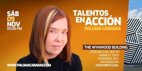 Talentos en Acción tickets