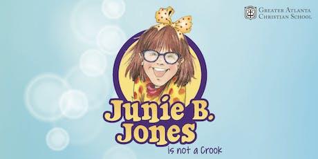 "Middle School Drama presents: ""Junie B. Jones is Not a Crook!"" tickets"