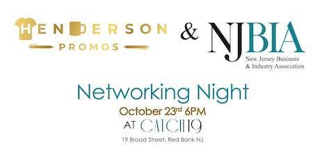 Henderson Promos & NJBIA  Networking Night tickets