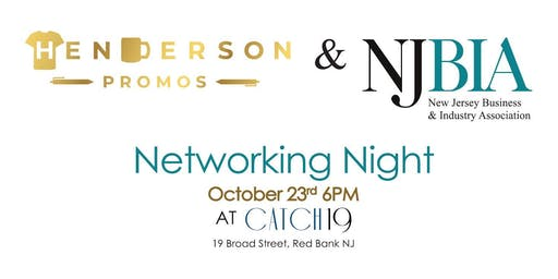 Henderson Promos & NJBIA  Networking Night