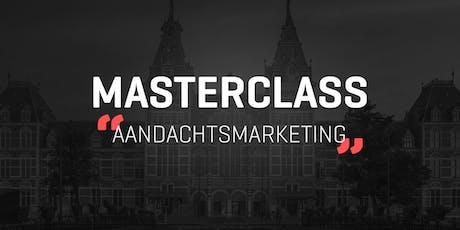Masterclass Aandachtsmarketing tickets
