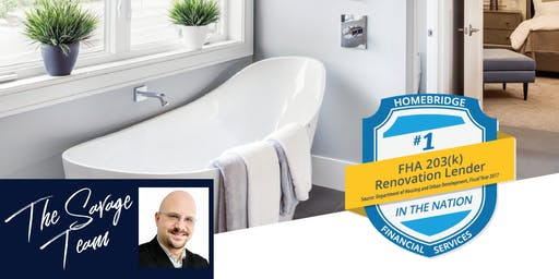 Renovation Financing Made Simple @ Hondros College