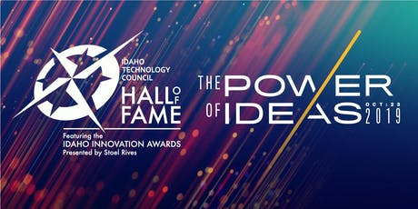 Hall of Fame, Featuring the Idaho Innovation Awards  tickets