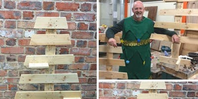 Make a Christmas Tree from Pallets