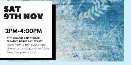 Cyanotype Preparation tickets