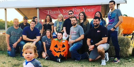 The Good Home Team Pumpkin Patch!
