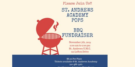St. Andrews Academy POPs BBQ tickets