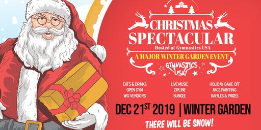 Christmas Spectacular! A Major Winter Garden Event!