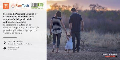 Parental Control e strumenti di esercizio della responsabilità genitoriale nell'era tecnologica