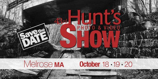 The Hunt's Show: 1-2pm- Portrait Photography with Olympus