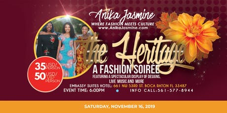 THE HERITAGE, a Fashion Soirée tickets