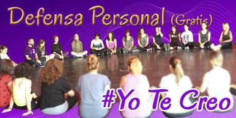 Defensa Personal Gratuita-#YoTeCreo entradas