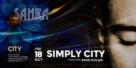 Sahra : Simply City at City at Night tickets