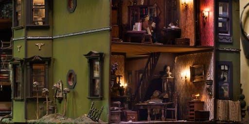 Haunted Dollhouse in a Shoebox!