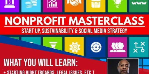 Nonprofit Masterclass: Startup, Sustainability, and Social Media Strategy