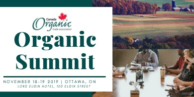 Organic Summit 2019: Organic is part of the Solution