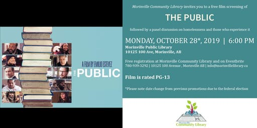The Public - FREE Screening with discussion