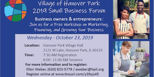 4th Annual Hanover Park Small Business Education Forum