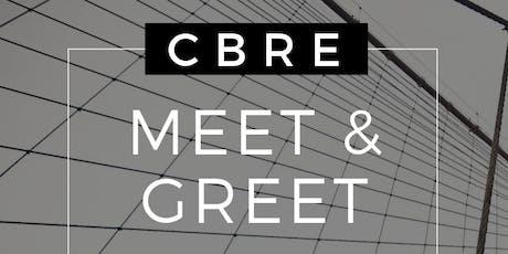 CBRE Meet and Greet tickets