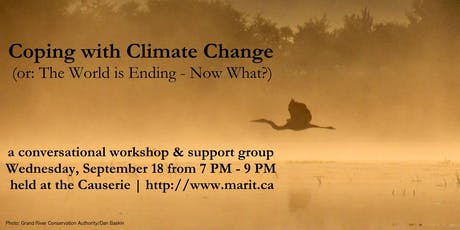 Coping With Climate Change (or: The World is Ending - Now What?) tickets
