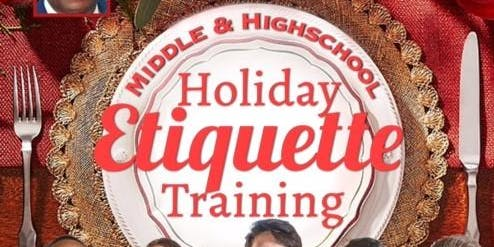 Chairman Oz Nesbitt's Youth Holiday Etiquette Training Course