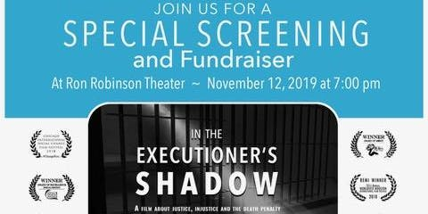 """ACADP Annual Meeting & Screening of """"In the Executioner's Shadow"""""""