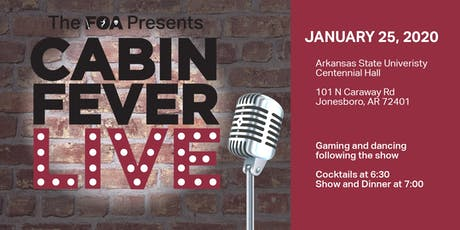 The Foundation of Arts Presents Cabin Fever Live 2020 tickets