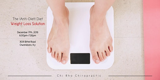 The Anti-Diet: Weight Loss Solution