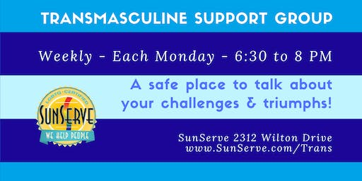 Transmasculine Support Group - Weekly