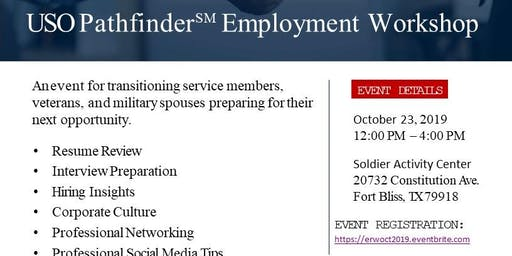 Employment Readiness Workshop