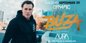 Aura Dynamic Sundays ft. DJ Buza  10.29.19 