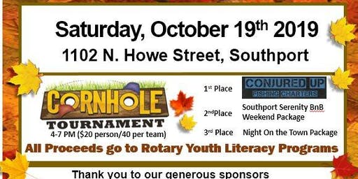 3rd Annual Rotary Corn Hole Tournament