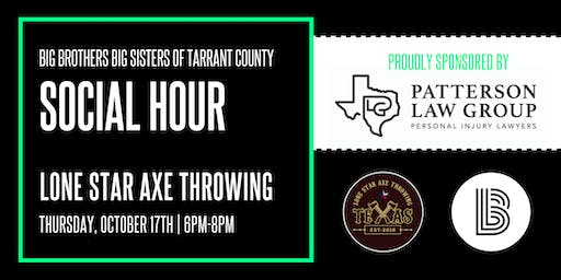 BBBS Tarrant   Lone Star Axe Throwing Event