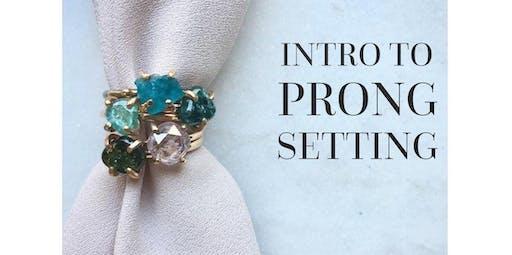 Intro to Prong Setting with Bibelot LA (2019-12-08 starts at 3:00 PM)