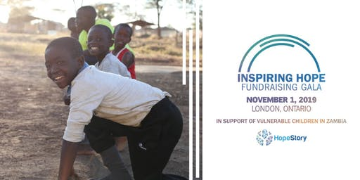 Inspiring Hope In Zambia - London Fundraising Gala