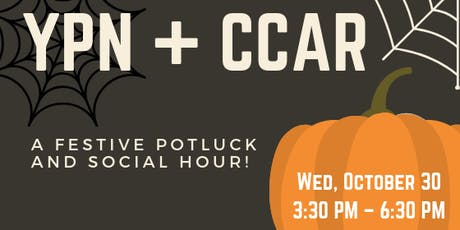 CCAR YPN: Halloween Potluck and  Social Hour tickets