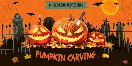Pumpkin Carving at Benchmark tickets