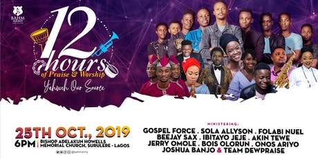 12 HOURS OF WORSHIP 2019 tickets